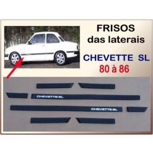 Friso Lateral Chevette SL 80 à 86 - Jogo