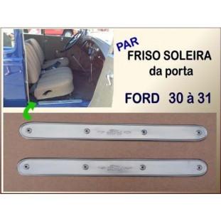 Friso Soleira Porta 30 à 31 Inox  - Par