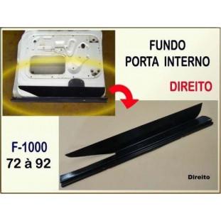 Fundo Porta Interno F-100 F-1000 72 à 92 Direito
