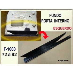Fundo Porta Interno F-100 F-1000 72 à 92 Esquerdo