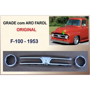 Grade com Aro do Farol Original F-100 1953