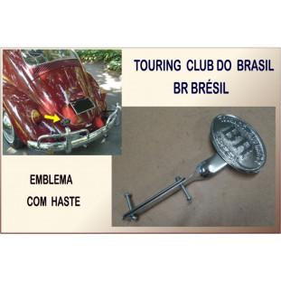 Emblema com Haste Touring Club do Brasil BR Brésil