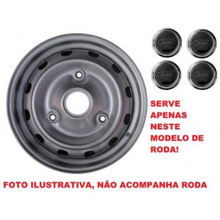 Calota Preta Ford 82 a 97 Aro 14 - Jogo