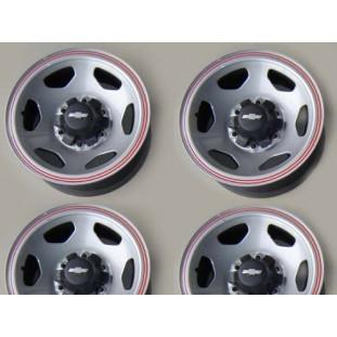 Roda Ferro Original D-20, Silverado Aro 15 Tala 7 - Jogo