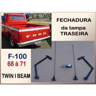 Fechadura Tampa Traseira F100 68 à 71 Twin I Beam