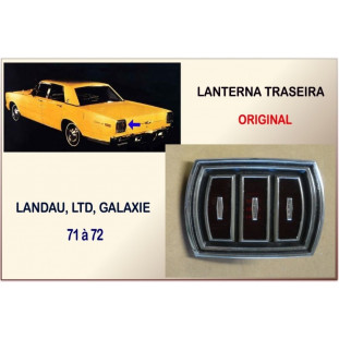 Lanterna Traseira Landau, LTD e Galaxie 71 à 72 Original