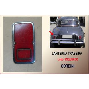 Lanterna Traseira Gordini 66 à 68 Leão Esquerda