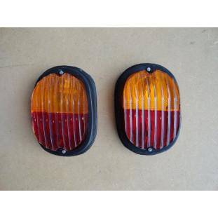 Lanterna Carretinha Reboque Adaptação Uso Geral Bicolor Par