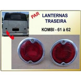 Lanterna Traseira Kombi 61 à 62 - Par