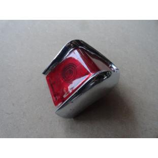 Lanterna Traseira Esquerda Rural F-75 Canto Original Cromado