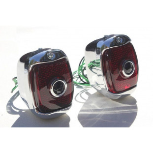 Lanterna Traseira com Blue Dot Boca de Sapo 47 à 53 Importada - Par