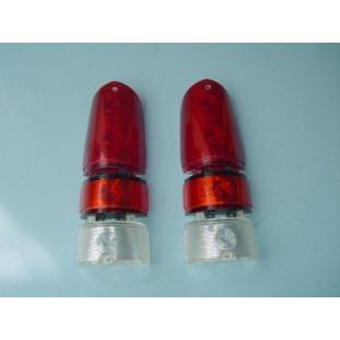 Lentes Lanterna Traseira Aero Willys 67 à 71 - Jogo