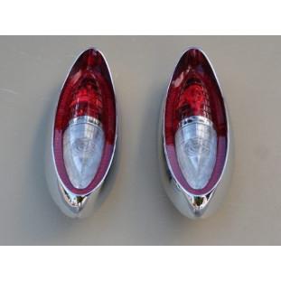 Lanternas Traseiras Chevrolet Alvorada, Amazona e Corisco 59 à 63 - Par