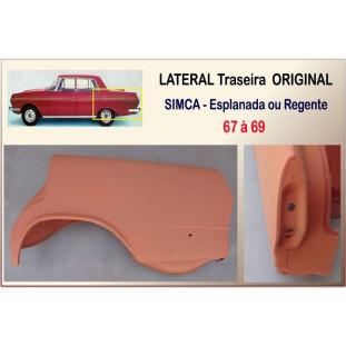 Lateral Traseira Simca Esplanada, Regente 67 à 69 Esquerda Original