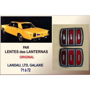 Lente Lanterna Landau, LTD e Galaxie 71 à 72 Original - Par