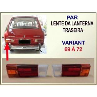 Lente Lanterna Traseira Variant 69 à 72 - Par