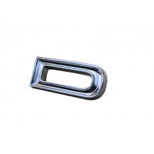 Letra D do Emblema Ford Galaxie LTD Landau até 1972 Original Novo