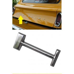 Letra H do Emblema Chevrolet da Tampa Traseira Veraneio até 1988