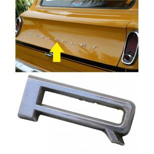 Letra R do Emblema Chevrolet da Tampa Traseira Veraneio até 1988