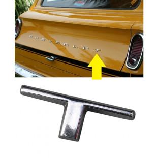 Letra T do Emblema Chevrolet da Tampa Traseira Veraneio até 1988