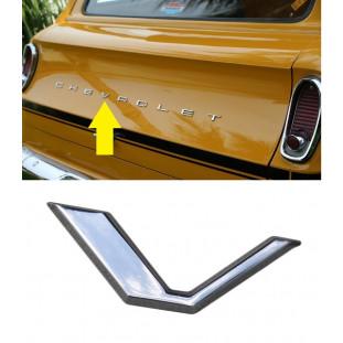 Letra V do Emblema Chevrolet da Tampa Traseira Veraneio até 1988