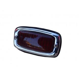 Lanterna Luz Freio VW Kombi Cromado Lente Resina Novo