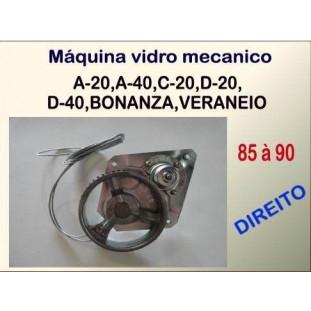 Máquina de Vidro Mecânica 85 à 90 Direita