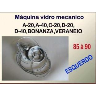 Máquina de Vidro Mecânica 85 à 90 Esquerda