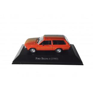 Miniatura Ford Belina II 1980 Carros Inesquecíveis do Brasil Nova