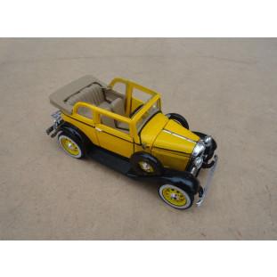 Miniatura Ford 1932 Convertible Sedan Amarelo