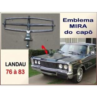 Emblema Mira Capô Landau 76 à 83