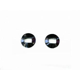 Espelho Moldura Maçaneta Interna Cromada até 1982 Par