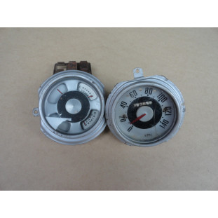 Velocímetro Marcador Relógio Instrumentos Ford F-1 51 a 52 Original - Par