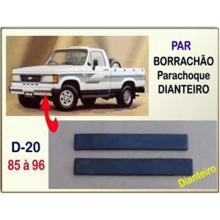 Borrachão Parachoque Dianteiro D-20, Bonanza, Veraneio 85 à 96 - Par