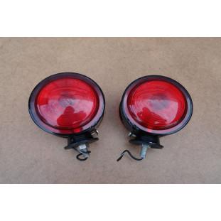 Lanterna Lateral Cabine Caminhão FNM, Feneme, D11000, D9500 Nova - Par