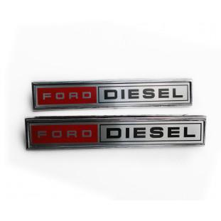 Emblema Lateral Ford Diesel Caminhões F-11000 F-13000 F-21000 Reprodução Novo