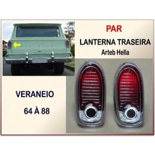 Lanterna Traseira Veraneio 64 à 88 Arteb Hella - Par