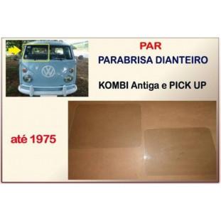 Parabrisa Dianteiro Kombi Antiga e Pick-Up até 75 - Par