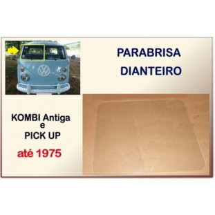Parabrisa Dianteiro Kombi Antiga e Pick-Up até 75 - Unitário