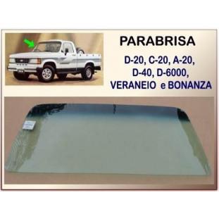 Parabrisa Dianteiro D-20, Veraneio e Bonanza 85 à 96 Degradê Verde Laminado