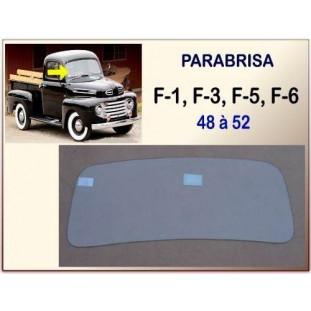 Vidro Parabrisa F-1 48 à 52 Incolor Temperado