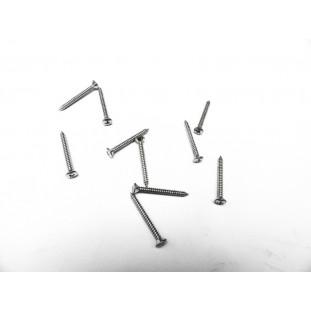 Parafuso Cabeça Cônica Phillips 4,8 x 46mm Auto Atarraxante Zincado Jogo com 10