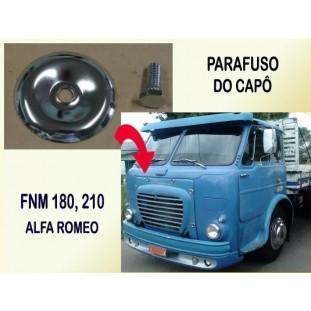 Parafuso do Capô FNM 180 210 e Alfa Romeo Cromado