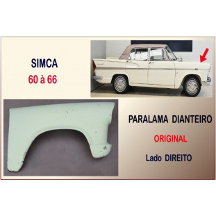 Paralama Dianteiro Simca 60 à 66 Original Direito