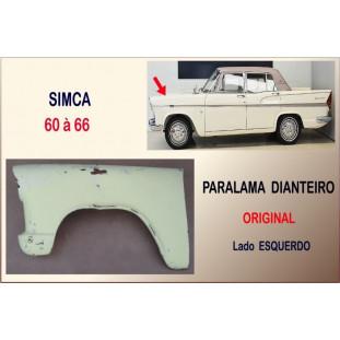 Paralama Dianteiro Simca 60 à 66 Original Esquerdo