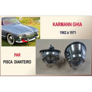 Pisca Dianteiro Karmann Ghia 62 à 71 - Par