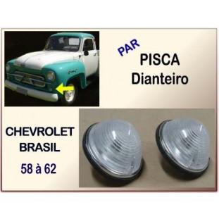 Pisca Dianteiro Chevrolet Brasil 58 à 62 - Par