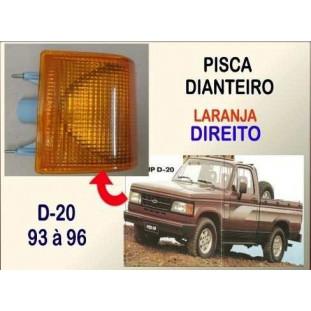 Lanterna Pisca Dianteiro D-20 93 à 96 Laranja Direito