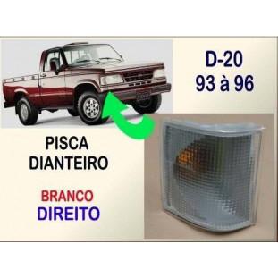 Lanterna Pisca Dianteiro D-20 93 à 96 Branco Direito