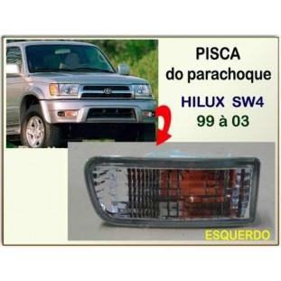 Pisca Parachoque Hilux SW4 99 à 03 Esquerdo